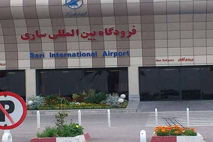 پروازهای فرودگاه ساری به ۶۴ سورتی رسید