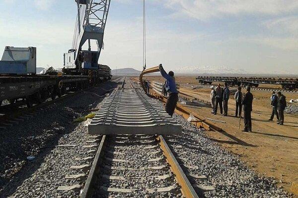 توقف پروژه دو خطه شدن راه آهن زنجان به قزوین در ایستگاه کمبود بودجه
