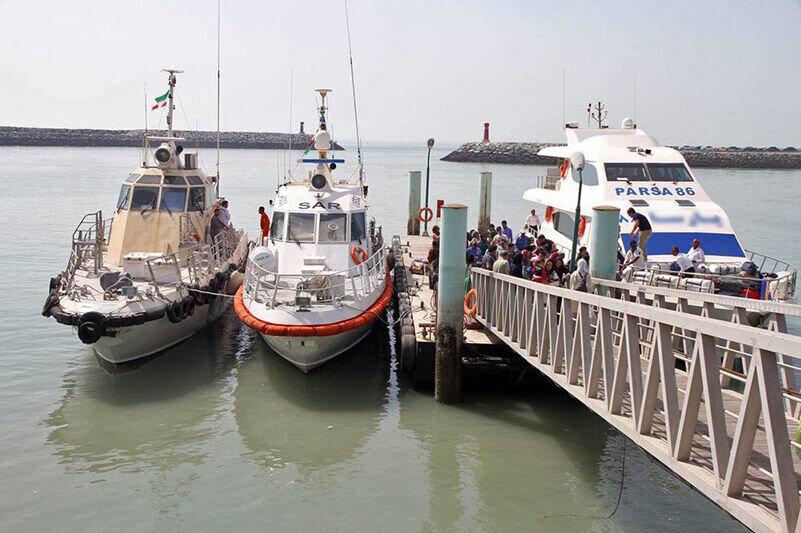 هراس گردشگری از دریا/ اتوبوس دریایی غرق شد