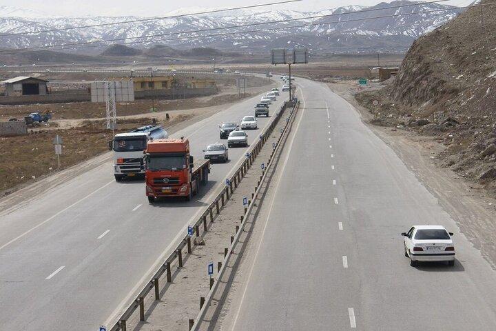 طرح محدودیت تردد در مسیر میانه- زنجان اجرا می شود