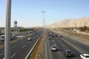 آمادهباش ۴۵۰ نفر در راهداری استان تهران/ ترافیک در همه محورهای پایتخت عادی و روان است