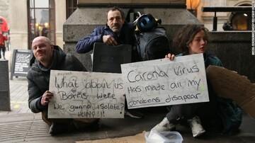 بیخانمانها تهدید اصلی کرونا در امریکا