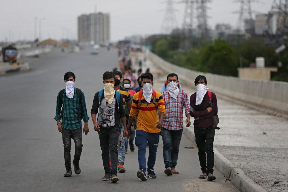 مشکلات قرنطینه برای میلیونها شهروند فقیر هندی