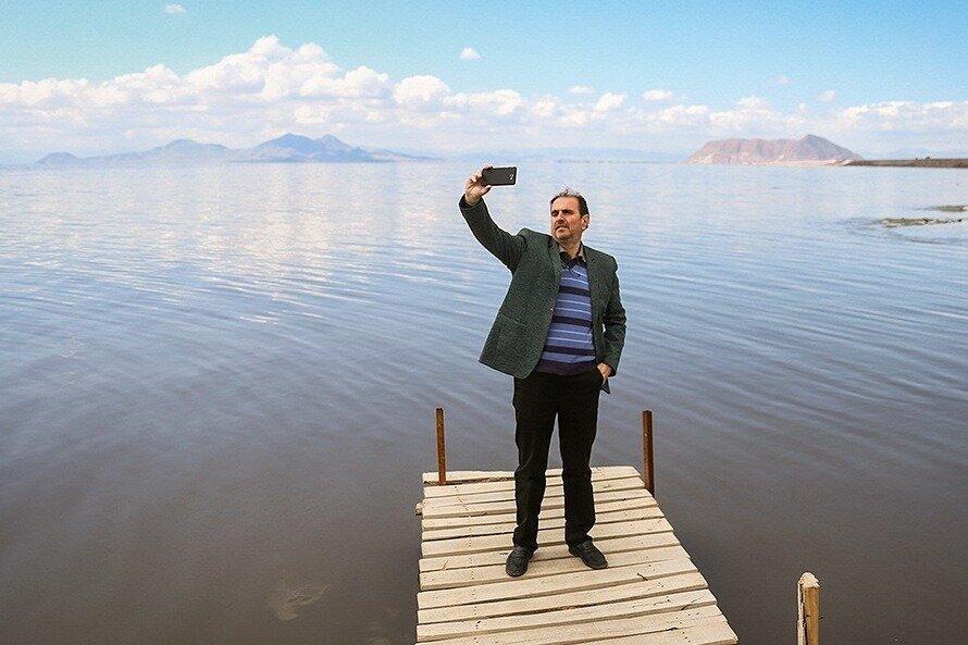 اراده طبیعت برتر از تدبیر مدیریت/ روزهای خوش در انتظار دریاچه ارومیه