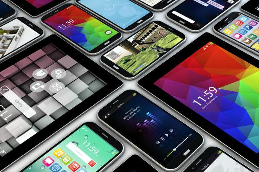 روند ثبت تلفن همراه به تفکیک نحوه ثبت