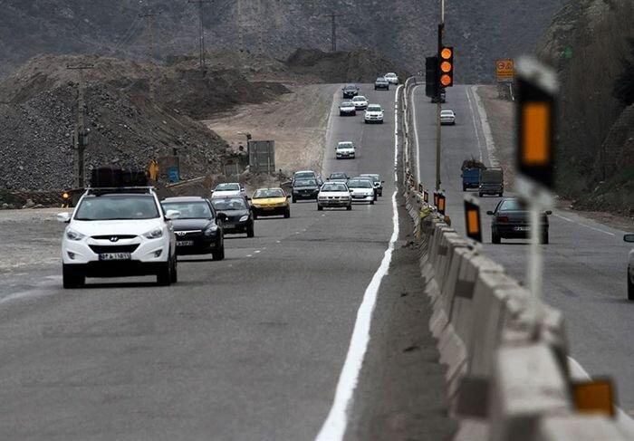 افزایش ۱۶.۵ درصدی تردد در جاده های کشور
