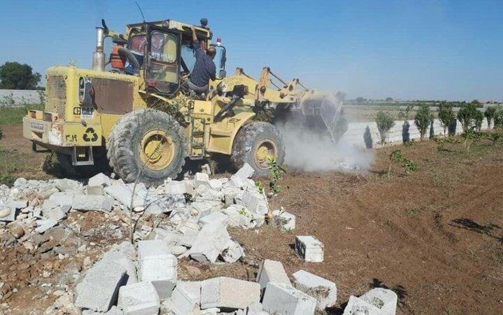 هرس دیوارهای اراضی کشاورزی تربت جام؛ گرانی مسکن حاشیه ساز شد