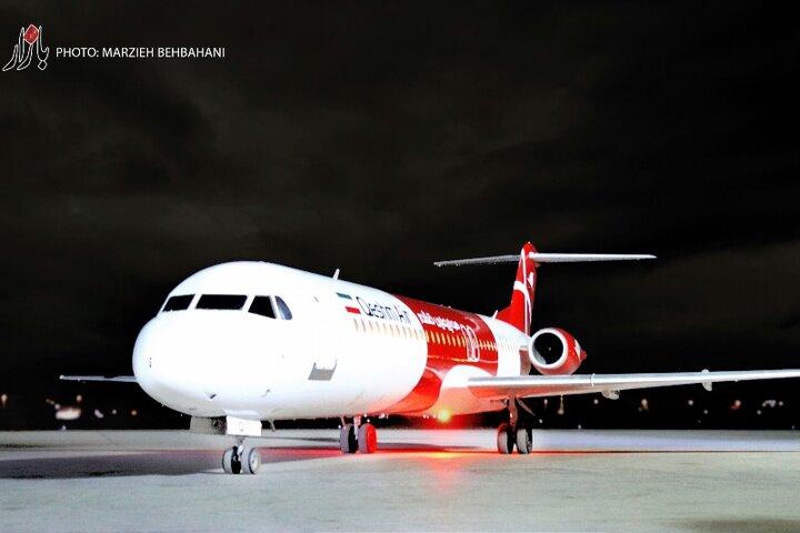 پرواز اهواز - کرج در روزهای شنبه و چهارشنبه برقرار است