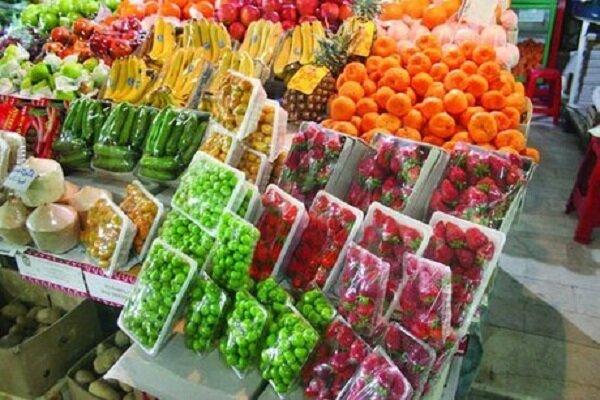 قیمت میوه و تره بار در چهارشنبه ۱۱ تیر ۹۹