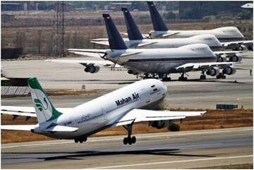 ۷۱ درصد رشد منفی پروازهای عبوری از کشور