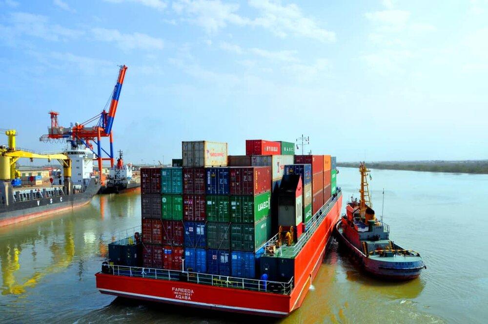افزایش کم سابقه حجم صادرات کالا در بندر خرمشهر