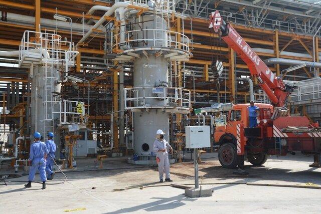 عملیات تعمیرات اساسی پالایشگاه دهم مجتمع گاز پارس جنوبی پایان یافت