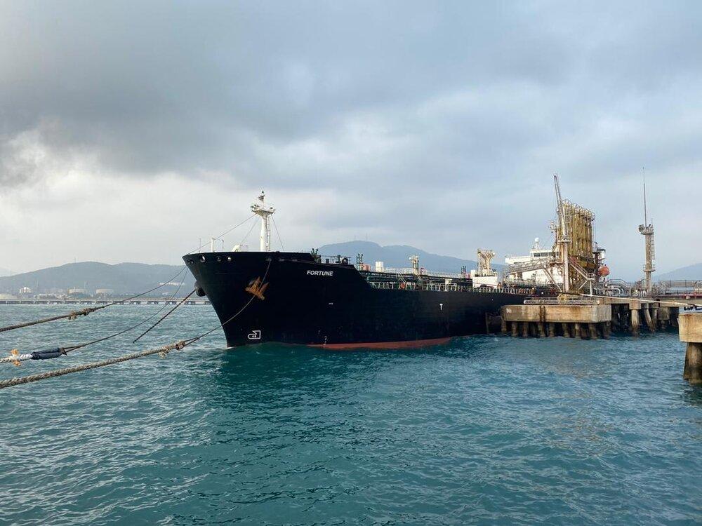 رسیدن کشتی حامل مواد غذایی ایران به ونزئلا