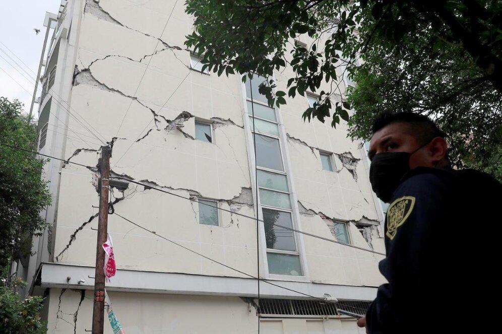 زلزله ۷.۴ ریشتری در جنوب مکزیک
