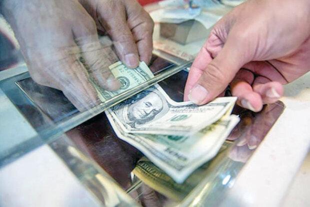 کاهش قیمت ارز و سکه/ بازار بی جاذبه ارز در میدان فردوسی