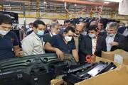 خط تولید رباتیک قطعات خودرو در قزوین به بهرهبرداری رسید