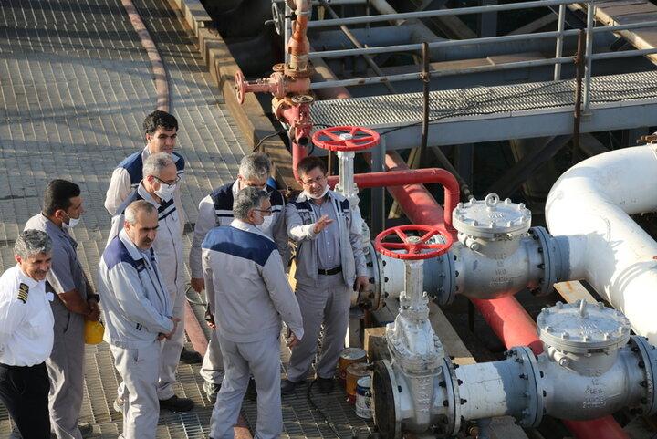 پروژههای تعمیراتی پایانه نفتی خارگ بررسی و نیازسنجی شد