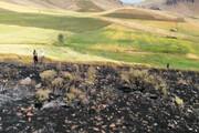 ۲۱ فقره آتش سوزی در مراتع زنجان رخ داده است