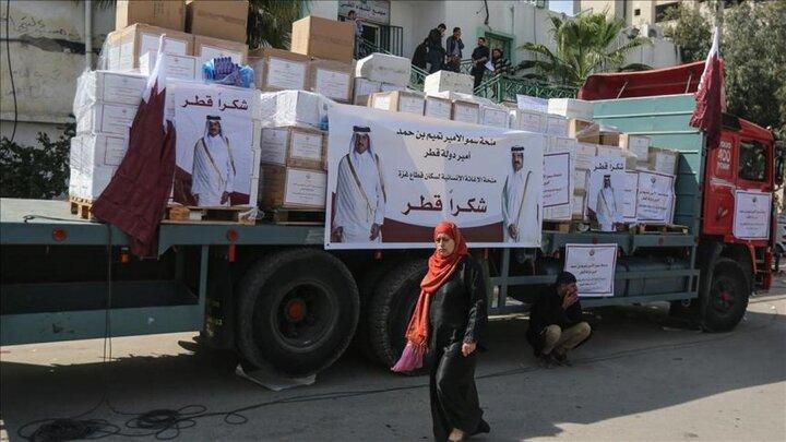 قطر از کمک ۱۰۰ میلیون دلاری به سوریه رونمایی کرد