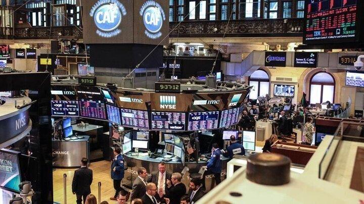 کاهش شاخص سهام در بورس نیویورک