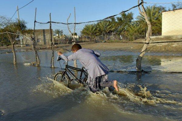 طغیان رودخانههای در انتظار اهالی سیستان و بلوچستان