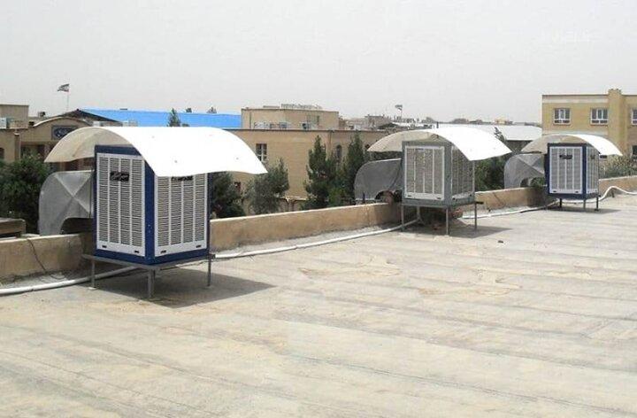 سایبان کولر روزانه  ۲۴۰ لیتر مصرف آب را کم می کند