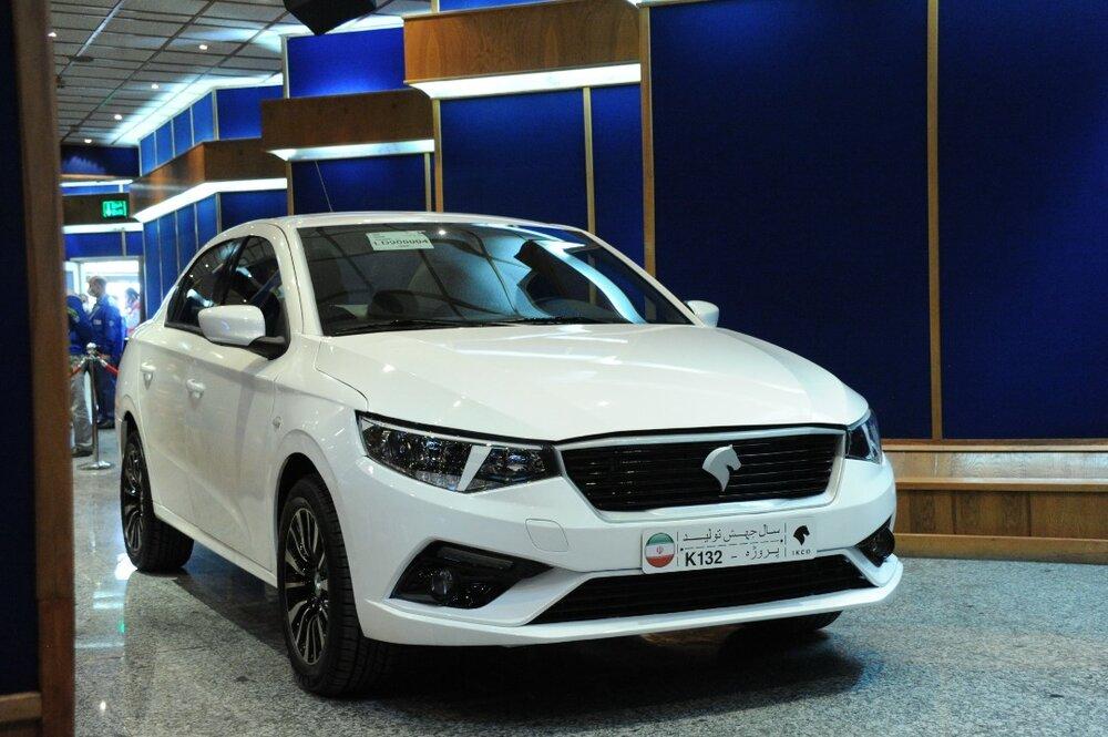 برنامه پیش فروش K۱۳۲ و ۸ محصول دیگر ایران خودرو اعلام شد