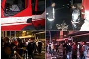 آتشسوزی در هتل «سبز کارون» دلیجان