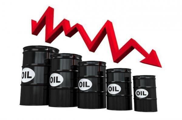 ادامه نزول پرشتاب قیمت جهانی نفت