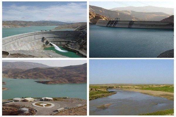 ۲۷۲ میلیون مترمکعب آب پشت سدهای زنجان ذخیره شده است