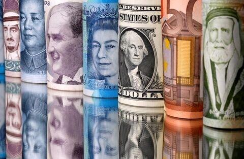 نرخ ۲۵ ارز رسمی کاهش یافت