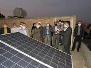 نیروگاه خورشیدی در دانشگاه فنی و حرفه ای استان سمنان ایجاد شد
