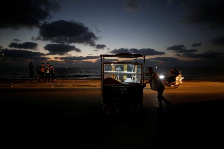 قطع برق در غزه