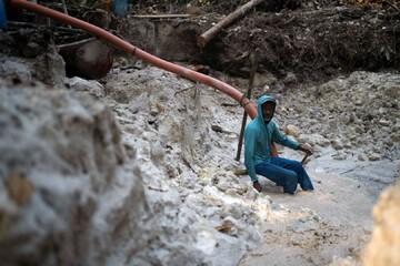 استخراج غیرقانونی طلا در برزیل