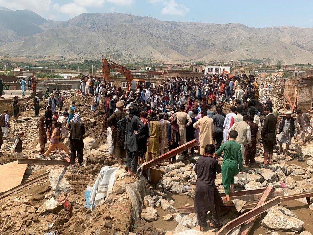 خسارات سیل در افغانستان