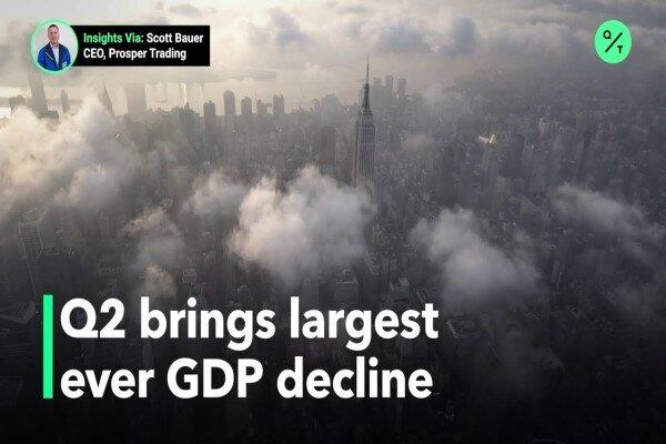تولید ناخالص ملی آمریکا کاهش یافت