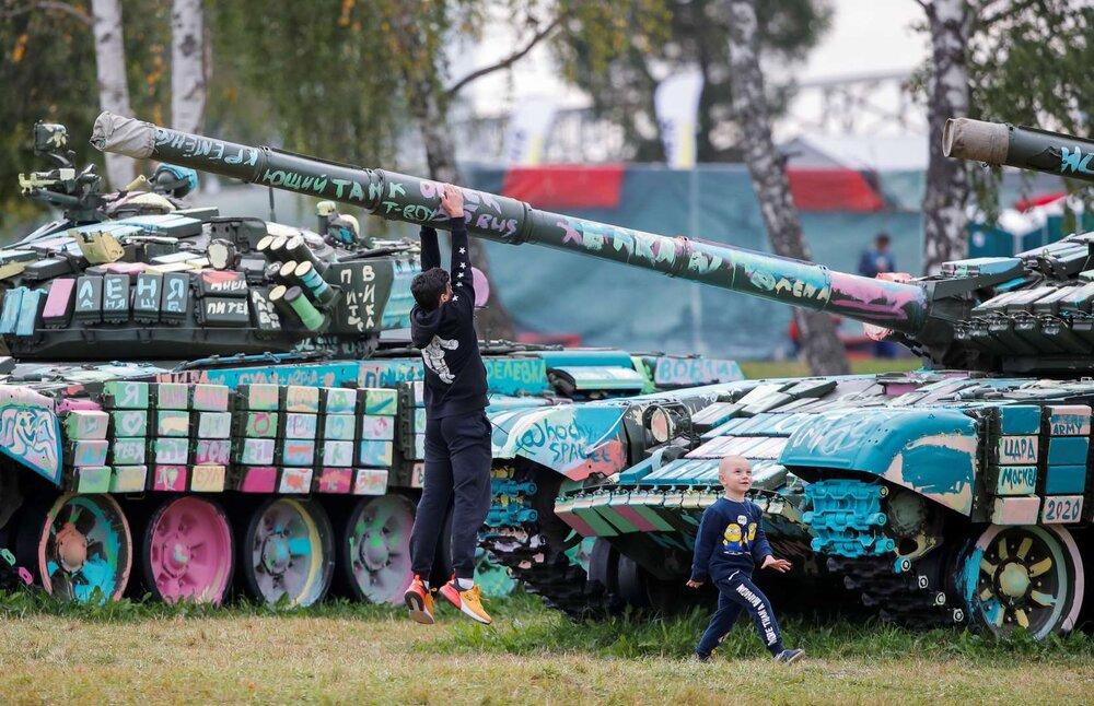 بازیهای ارتش های جهان در روسیه