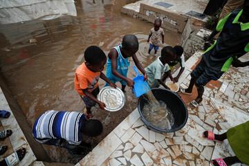 وقوع سیل در سنگال