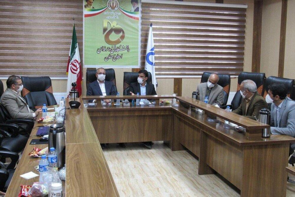 ارائه برنامه برای آموزش مهارتهای اشتغالزایی دانشجویان در استان سمنان